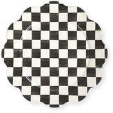 Mackenzie Childs MacKenzie-Childs Courtly Check Enamel Petal Platter
