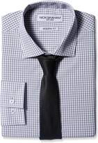 Nick Graham Everywhere Men's Check Dress Shirt with Tie