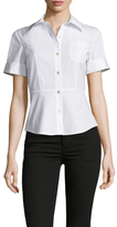 Marc by Marc Jacobs Fencing Peplum Shirt