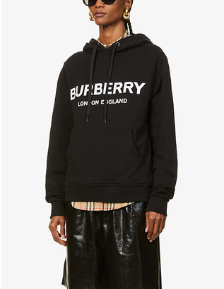 Burberry Branded cotton-jersey hoody