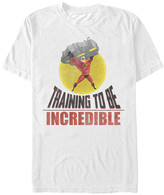 Fifth Sun Men's Tee Shirts WHITE - The Incredibles 'Training to Be Incredible' Tee - Men
