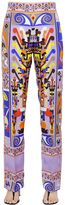 Emilio Pucci Printed Maya Silk Twill Pants