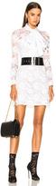 Francesco Scognamiglio Lace Mini Dress in White.