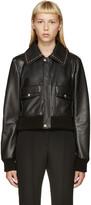 Givenchy Black Studded Leather Jacket
