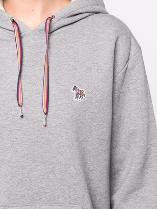 Paul Smith Logo-Embroidered Drawstring Hoodie