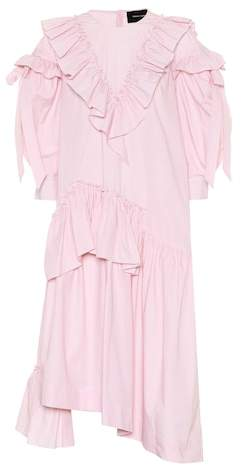 Simone Rocha Striped cotton dress