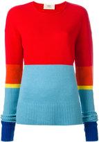 Ports 1961 cashmere colour block jumper