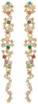 Fragments for Neiman Marcus Multicolor Crystal Statement Drop Earrings
