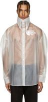 Hood by Air Transparent Latex Pilgrim Shirt