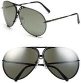 Porsche Design 'P8478' 69mm Aviator Sunglasses
