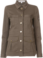 Veronica Beard cargo pocket jacket - women - Cotton/Spandex/Elastane/Lyocell - 2