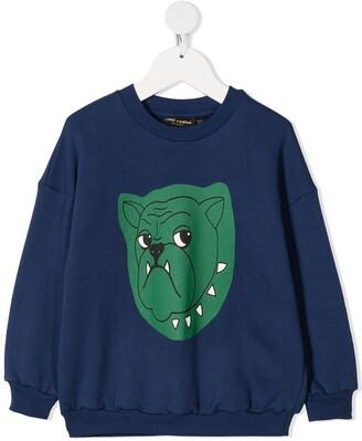 Mini Rodini Dog Print Sweatshirt