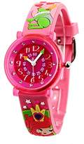 Baby Watch Baby Educational Queen Girl Watch – Quartz – Pink Dial Pink Plastic Strap Watch – 606078