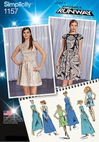 Simplicity 1157 Size D5 Misses Dresses Project Runway Collection Sewing Pattern