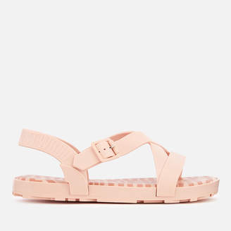 Melissa Women's Hermanos Strappy Sandals - Baby Pink