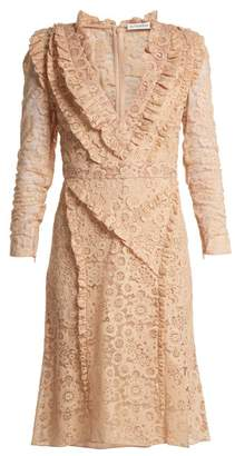 Altuzarra Ourika Valencienne Lace Dress - Womens - Beige