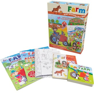 Mandmdirect.Com Kids Activity Box Set Farm Multi