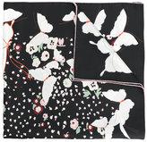 Valentino Garavani Valentino Pop butterflies scarf - women - Silk - One Size