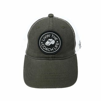 Pavilion Gift Company Livin' The Coach Life-Gray Unisex Adjustable Snapback Mesh Baseball Hat