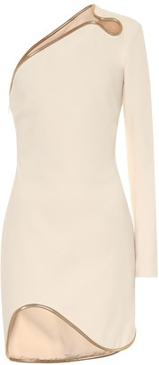Stella McCartney Dianna one-shoulder minidress