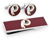 Ice Washington Redskins Cufflinks and Money Clip Gift Set