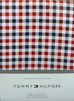 Tommy Hilfiger Red, White and Blue Checked Plaid Tablecloth, 60-by-102 Inch Oblong Rectangular