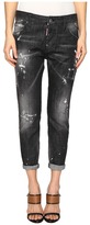 DSQUARED2 Skin Biker Pants Five-Pockets Women's Casual Pants