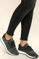 Coolway Tahali Black Knit Sneakers