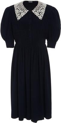 Miu Miu Lace Collar Dress