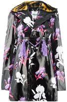 Kenzo 'Iris' vinyl coat