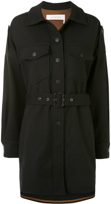See by Chloe Belted Shirt Jacket