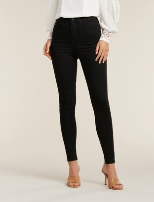 Forever New Bella Tall High-Rise Sculpting Jeans - Forever Black - 8