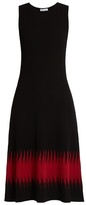 Tomas Maier Abomb sleeveless ribbed-knit midi dress