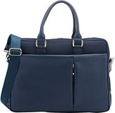 Barneys New York MEN'S COMBO BRIEFCASE-BLUE
