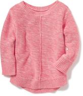 Old Navy Marled Hi-Lo Sweater for Toddler