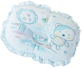 Panda Superstore Cute Cartoon Baby Infant Pillow Prevent Flat Head Toddler Pillow BLUE