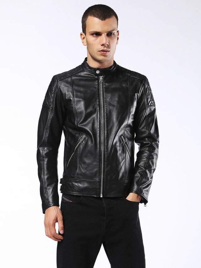 Diesel Leather jackets 0WAGL - Black - L