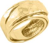 Barse Women's Hammered Bronze Ring SIMPR04BZ