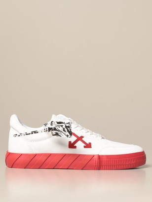 Off-White Off White Sneakers In Canvas And Suede With Arrows