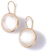 Ippolita 18k Gold Lollipop Drop Earrings in Mother-of-Pearl Doublet