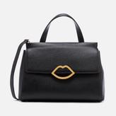 Lulu Guinness Women's Grainy Leather Gertie Bag - Black