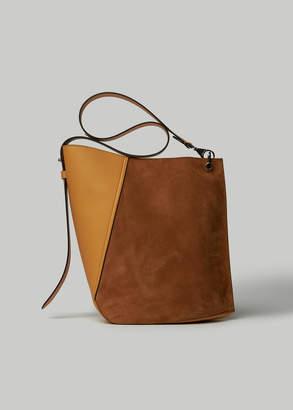 Lanvin Medium Suede Hook Bag