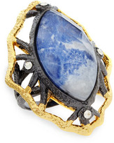 Alexis Bittar Marquise Sodalite Ring