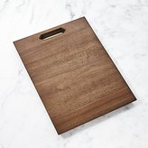 Crate & Barrel Carter Acacia Wood Cutting Board