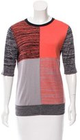 Creatures of the Wind Patterned Silk & Cashmere-Blend Top
