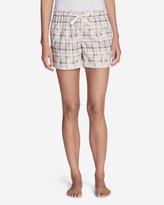 Eddie Bauer Women's Flannel Sleep Shorts