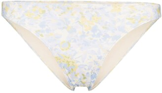 Peony Swimwear Staple floral-print bikini bottoms