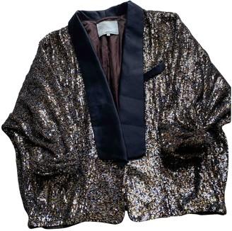 3.1 Phillip Lim Gold Glitter Jacket for Women