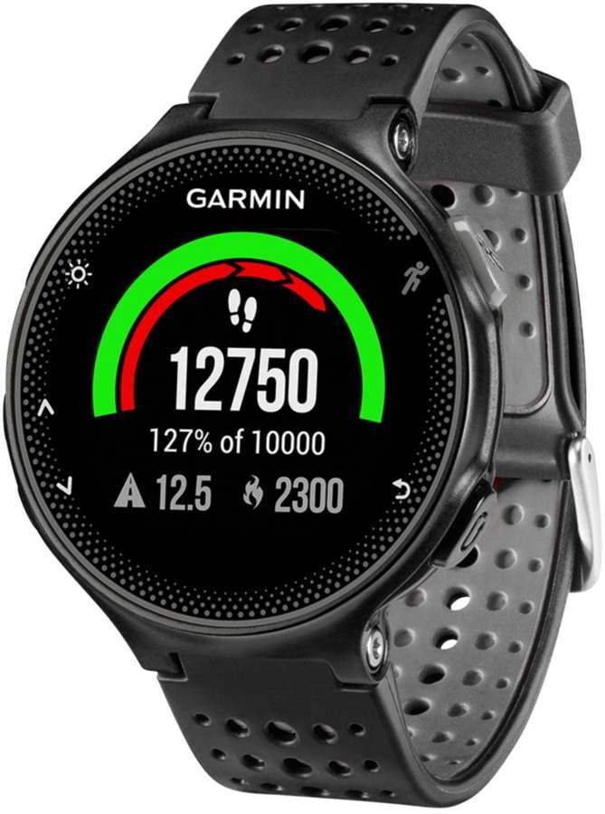 Garmin Unisex Forerunner 235 Black Silicone Strap Smart Watch 31mm 010-03717-54