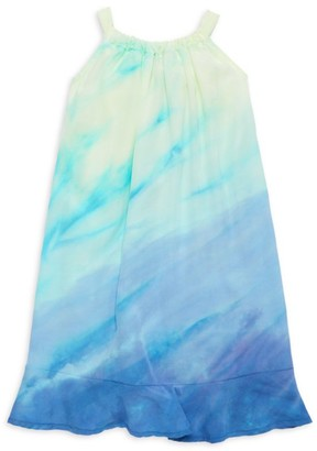 Bella Dahl Little Girl's & Girl's Rainbow Tie-Dye Sundress